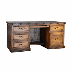 Old West Rustic Executive Desk