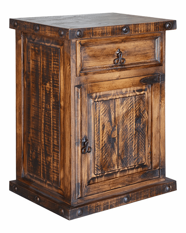 Old West Rustic Night Stand