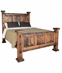 Old West Rustic Oasis Bed