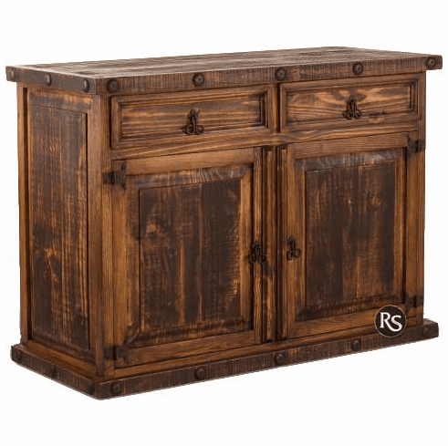 Old West Rustic Small Sideboard