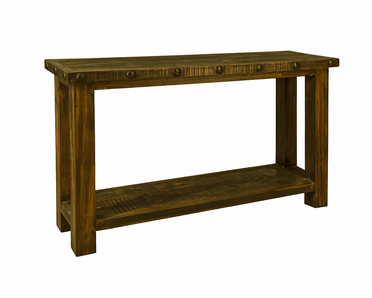 Old West Rustic Sofa Table