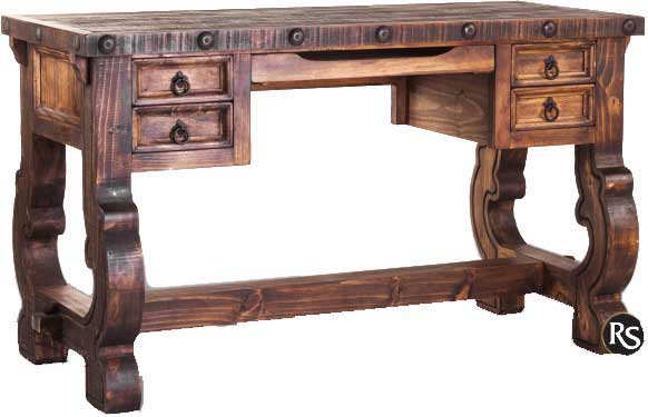 Old West Rustic Writing Desk