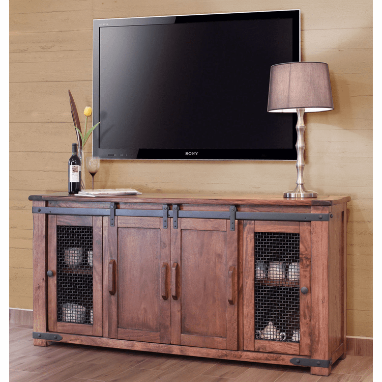 Barn Door Tv Stand Rustic