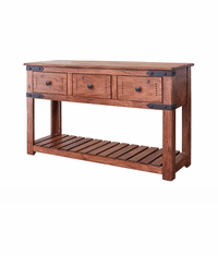 Parota Rustic Console or Sofa Table