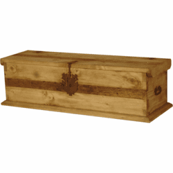 Pine Rustic Trunk Large