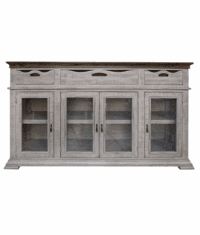 Puebla Gray Console Table 71""