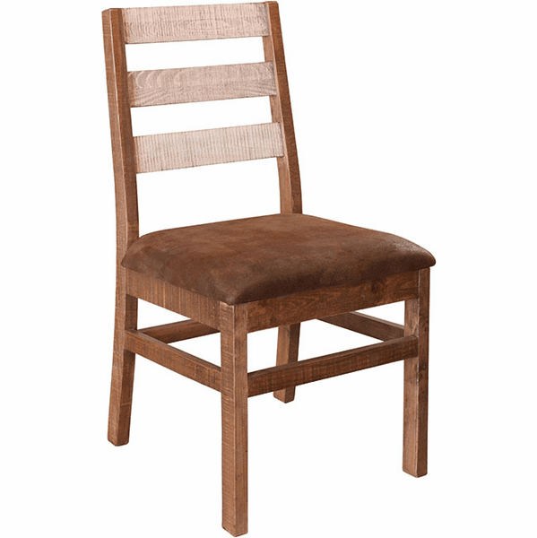Puebla Rustic Two Tone Dining Chair
