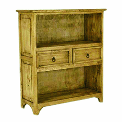 Rivera Rustic Short Bookcase
