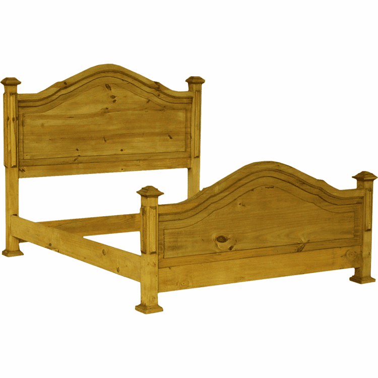 Roma Rustic Bed
