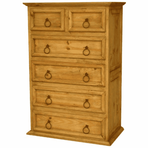 Rustic Chest 6 Drawers