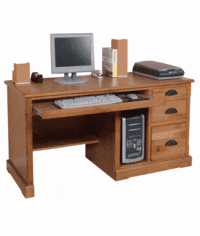 Rustic Oak Office Furniture