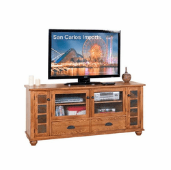 <b>Rustic Oak TV Stands</b>