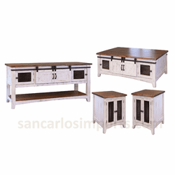 Rustic Occasional Table Sets