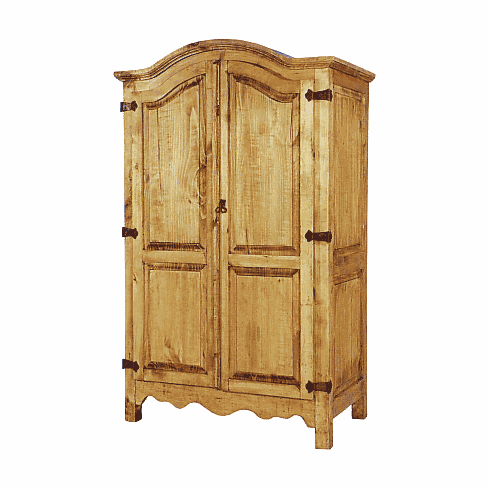 Rustic Pine Computer Armoire