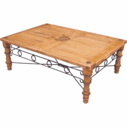 Rustic Star Coffee Table