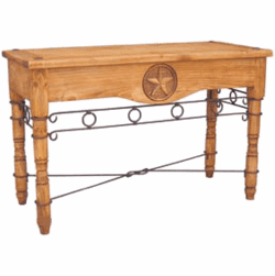 Rustic Star Sofa Table
