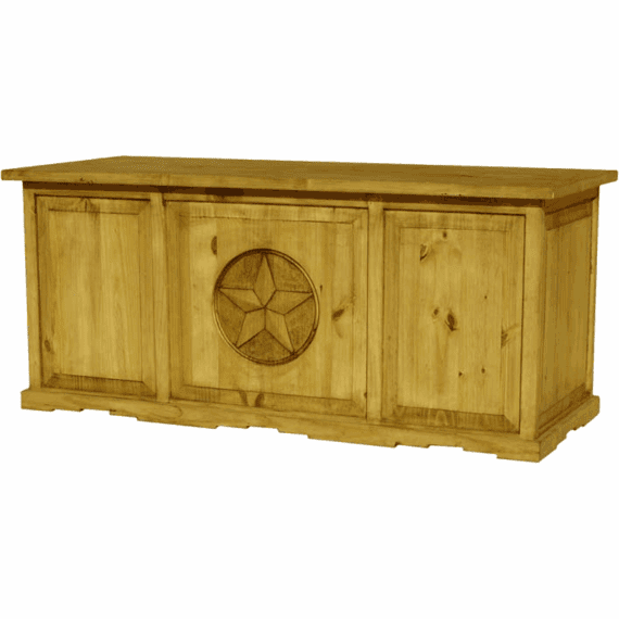 Rustic Star Wood Desk