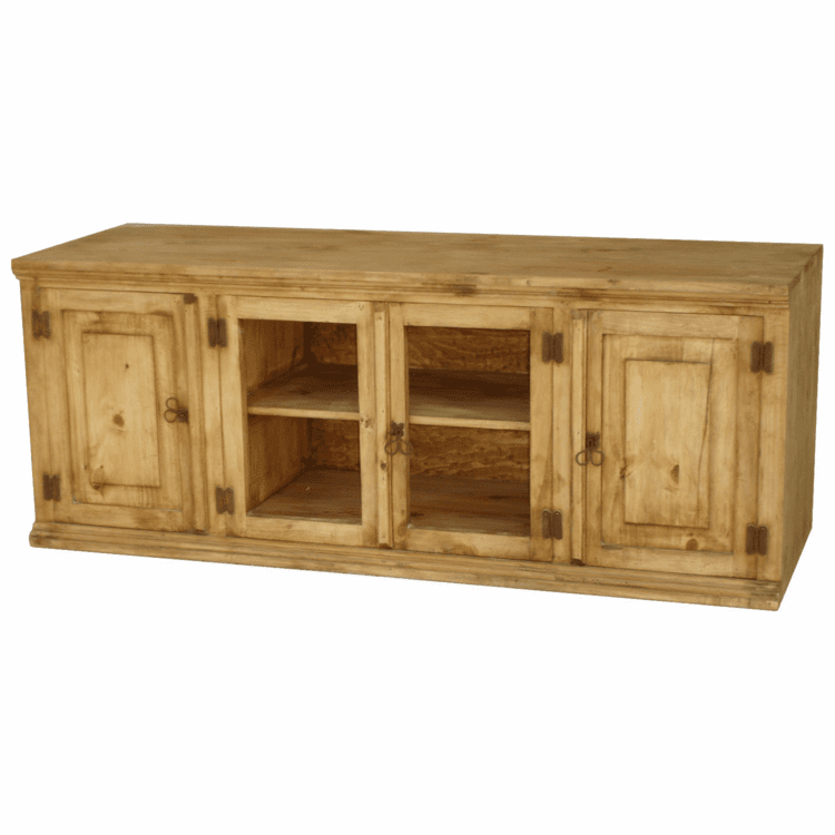 "Rustico 60"" Pine TV Stand"