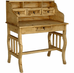Rustico Pine Writing Desk