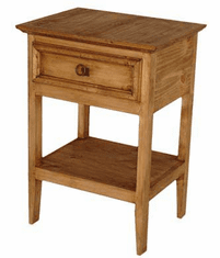 Rustico Rustic Night Stand w/ Drawer