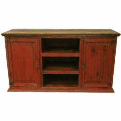 "San Carlos Antique Red 60"" TV Stand"