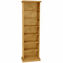 San Carlos Pine Wood CD/DVD Tower