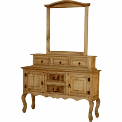San Carlos Rustic Entryway Table