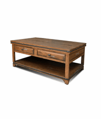 San Cristobal Rustic Coffee Table