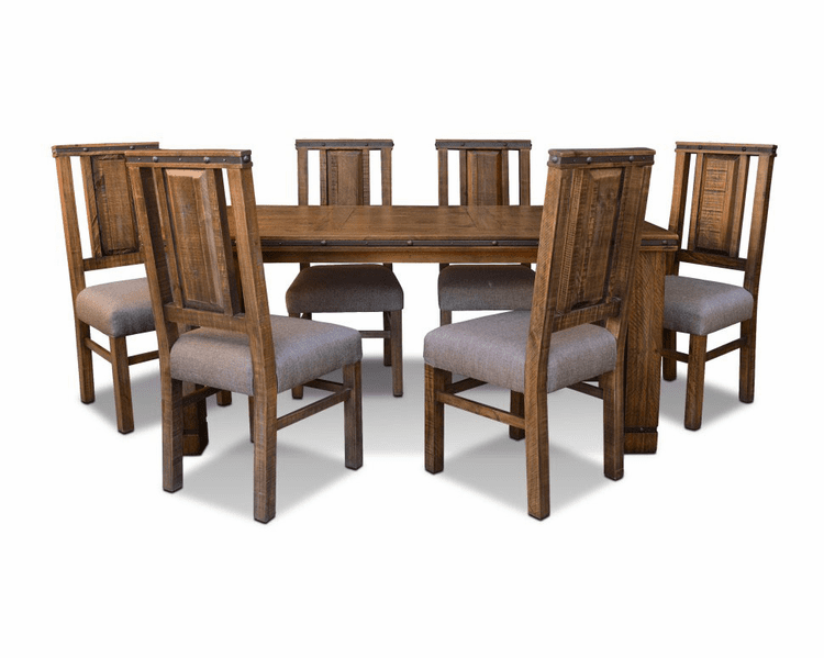 San Cristobal Rustic Dining Table Set