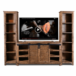 San Cristobal Rustic Entertainment Center