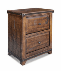 San Cristobal Rustic Night Stand