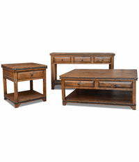 San Cristobal Rustic Occasional Table Set