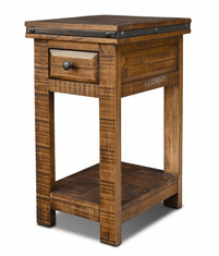 San Cristobal Rustic Side Table