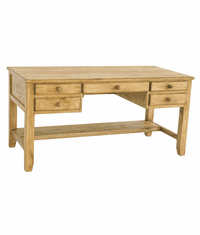 San Jose Rustic Wood Writing Desk