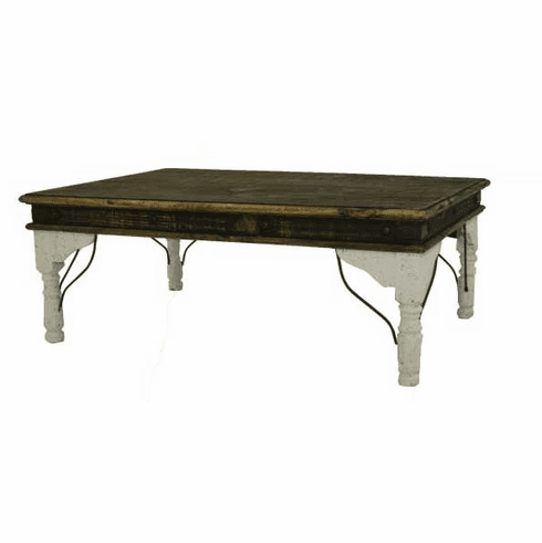 San Juan Two-Tone Coffee Table White
