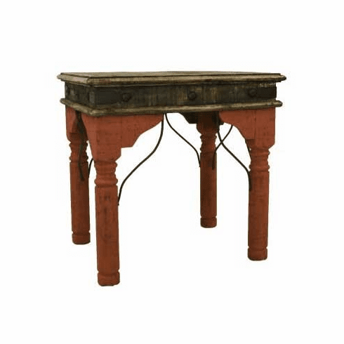 San Juan Two-Tone End Table Red