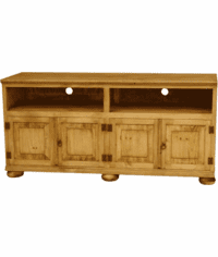 "San Luis 60""  Rustic TV Stand w/ Legs"