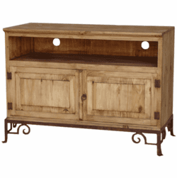 "San Miguel 48"" Rustic TV Stand w/ Base"