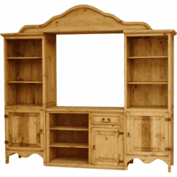 San Miguel Rustic Wall Unit
