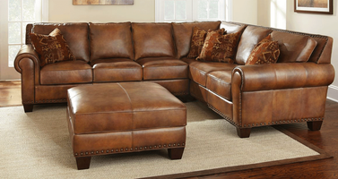 Santa Fe Leather Sectional