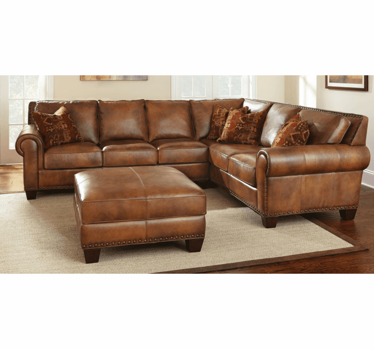Leather Sectional, Leather Sectional Sofa, Leather Sofa ...