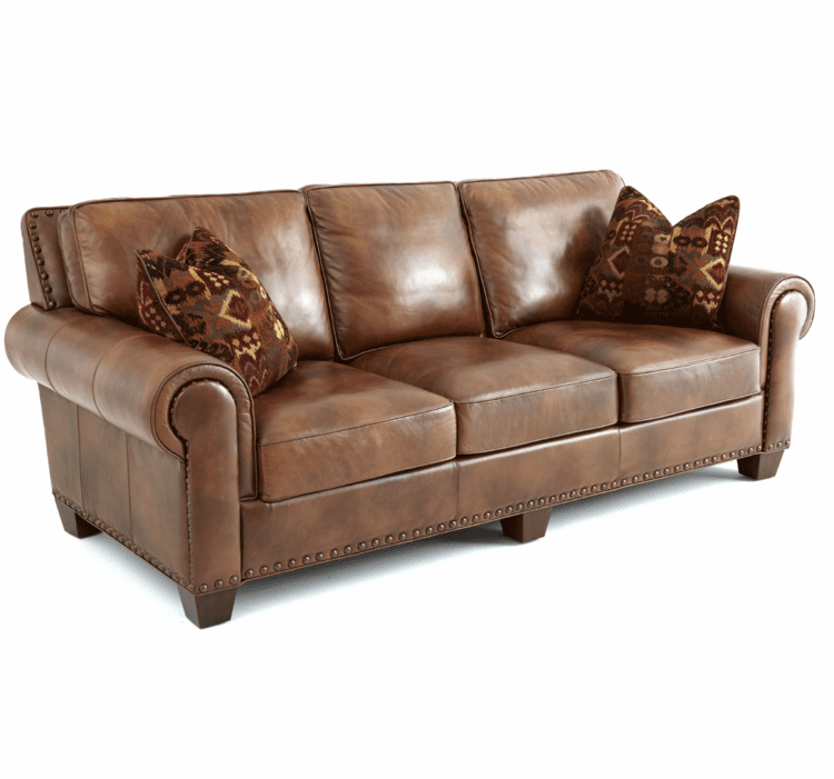 Leather Sofa, Leather Couch, Brown Leather Sofa