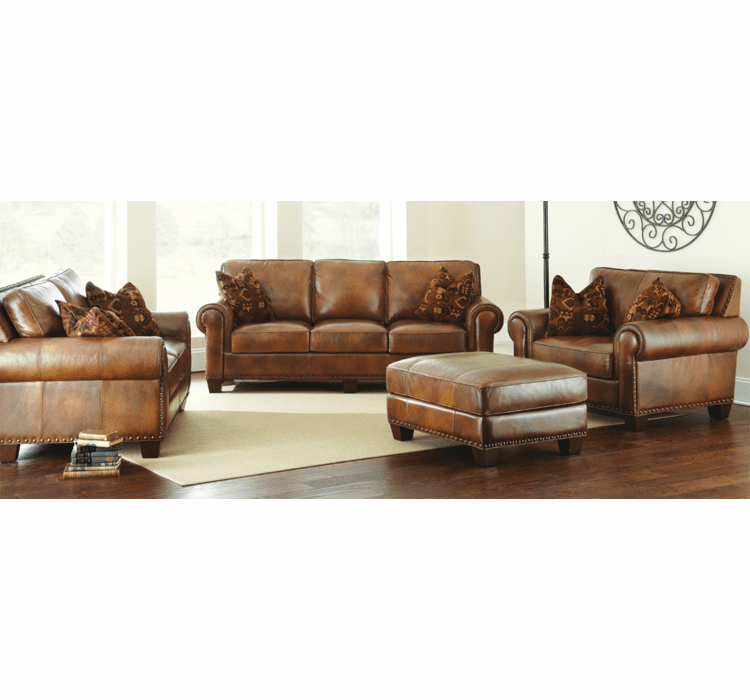 Leather Sofa Set, Rustic Leather Set, Sofa Leather Set