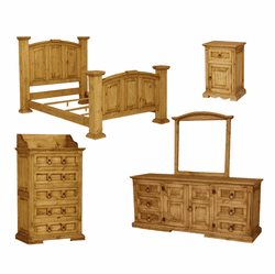 Santa Fe Rustic Bedroom Set