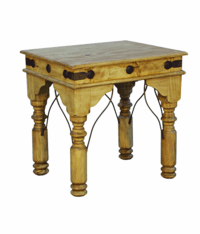 Santa Fe Rustic End Table