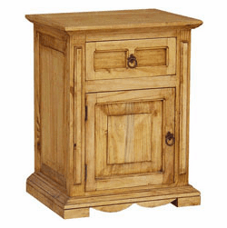 Santa Fe Rustic Night Stand L
