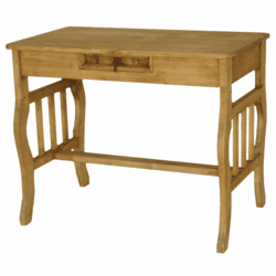 Santa Fe Rustic Pine Wood Writing Desk