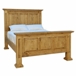 Santa Rita Mansion Rustic Bed Frame