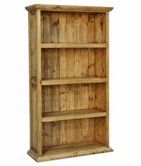Santa Rita Rustic 4 Shelf Bookcase