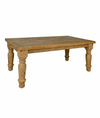 Santa Rita Rustic Dining Table